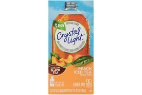Crystal Light Peach Iced Tea On The Go Drink Mix 10 0 07