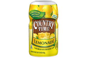 COUNTRY TIME Lemonade Sugar Sweetened Powdered Soft Drink 29 oz. Cannister