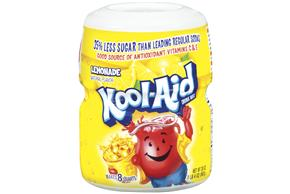 Kool-Aid Lemonade Soft Drink Mix 20 Oz Canister
