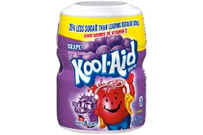 Kool-Aid Grape Drink Mix 19 oz. Canister