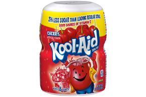 Kool-Aid Cherry Drink Mix 19 oz. Canister
