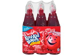 Kool-Aid Bursts Cherry - 6-6.75 Oz. Bottles