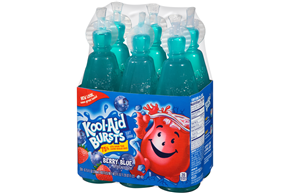 Kool-Aid Bursts Berry Blue - 6-6.75 Oz. Bottle
