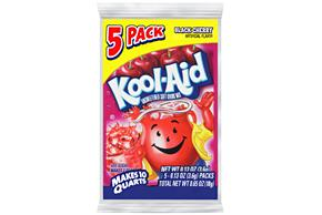 Kool-Aid Black Cherry Unsweetened Soft Drink Mix 5-0.13 oz. Packs