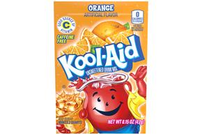 Kool-Aid Orange Drink Mix 0.15 oz. Packet