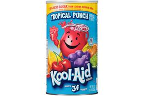 Kool-Aid Tropical Punch Drink Mix 82.5 oz. Canister