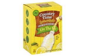 Country Time On The Go Lemonade Drink Mix 10-0.67 oz. Packets