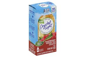 Crystal Light Raspberry Green Tea On the Go Drink Mix 10-0.09 oz. Packets
