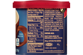 Maxwell House International Toasted Hazelnut Cappuccino Cafe-Style Beverage Mix 8.6 oz. Tub