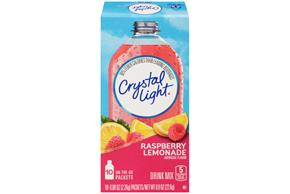 Crystal Light On the Go Raspberry Lemonade Drink Mix 10-0.08 oz. Packets