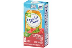 Crystal Light Raspberry Green Tea On The Go Drink Mix 10 0
