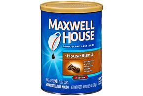 Maxwell House House Blend Ground Coffee 10.5 oz. Canister