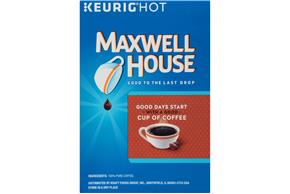Maxwell House House Blend Coffee K-Cup(R) Packs 18 ct Box