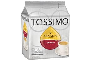 Tassimo Gevalia Espresso Coffee 16 Ct Bag