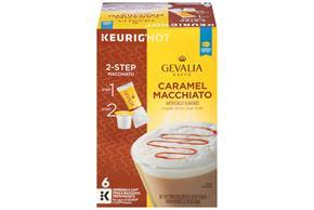 Gevalia Caramel Macchiato 1.19 oz. 6CT Box