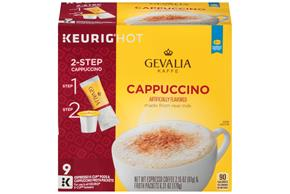Gevalia Cappuccino 2.15 oz. 9CT Box