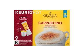Gevalia Cappuccino 2.15 oz. 9CT Box