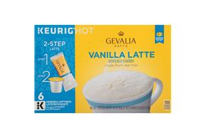 Gevalia Vanilla Latte 1.41 oz.  6CT Box