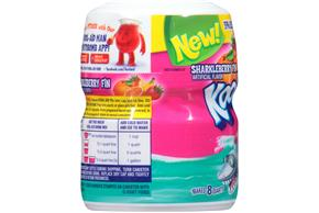 Kool-Aid Sharkleberry Fin Drink Mix 19 oz. Canister