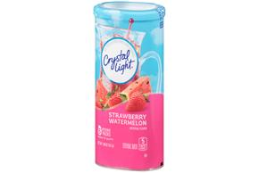 CRYSTAL LIGHT MULTISERVE Strawberry Watermelon 1.96 oz. Packet