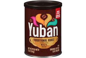 Yuban Traditional Medium Roast Ground Coffee 12 oz. Canister