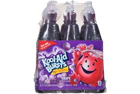 Kool-Aid Bursts Grape - 6-6.75 Oz. Bottle