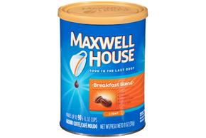 Maxwell House Breakfast Blend Ground Coffee 11 oz. Canister