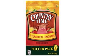 Country Time Strawberry Lemonade Drink Mix 5.96 oz. Pouch