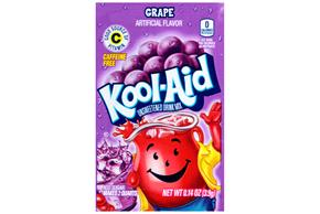Kool-Aid Grape Drink Mix 0.14 oz. Packet