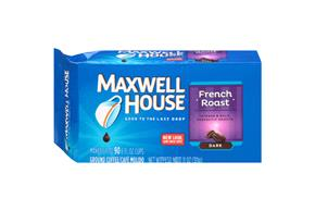 Maxwell House French Roast Ground Coffee 11 oz. Brick
