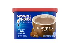 Maxwell House International Suisse Mocha Café 7.2 oz Cannister