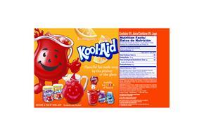 Kool-Aid Jammers Orange 10-6 fl oz. Pouches