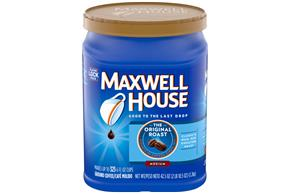 Maxwell House Original Medium Roast Ground Coffee 44.5 oz. Canister