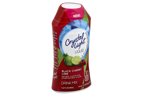 CRYSTAL LIGHT Black Cherry Lime Drink Mix 1.62 oz. Bottle