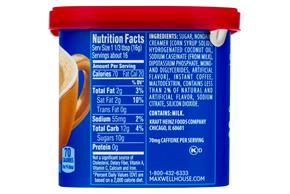 Maxwell House International Hazelnut Caf? 9 oz Canister
