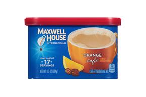 Maxwell House International Orange Caf? 9.3 oz Canister