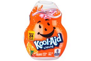 Kool-Aid Orange Liquid Drink Mix 1.62 fl. oz. Bottle