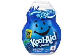 Kool-Aid Blue Raspberry Liquid Drink Mix 1.62 fl. oz. Bottle