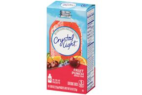 Crystal Light On The Go Fruit Punch Drink Mix 10 0 09 Oz