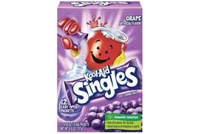 Kool-Aid Singles Grape 12 Ct Soft Drink Mix 6.6 Oz Box