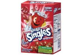 Kool-Aid Singles Cherry 12 Ct Soft Drink Mix 6.6 Oz Box