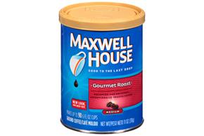 Maxwell House Gourmet Roast Ground Coffee 11 oz. Canister