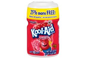 Kool-Aid Cherry Drink Mix 23.9 oz. Canister