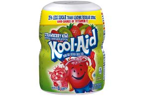 Kool-Aid Strawberry Kiwi Drink Mix 19 oz. Canister