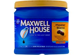 Maxwell House Master Blend Ground Coffee 30.65 oz. Canister