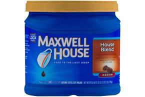 Maxwell House House Blend Ground Coffee 28 oz. Canister