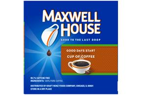 Maxwell House Decaf House Blend Coffee K-Cup(R) Packs 12 ct Box