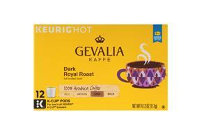 Gevalia Dark Royal Roast Coffee 4.12 oz. Box