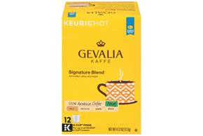 Gevalia Signature Blend Decaf Coffee 4.12 oz. Box
