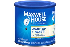 Maxwell House Wake Up Roast Ground Coffee 30.65 oz. Canister